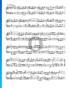 Französische Suite Nr. 2 c-Moll, BWV 813: 7. Gigue