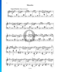 Mazurka, Op. 39 Nr. 11