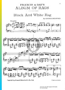 Black And White Rag
