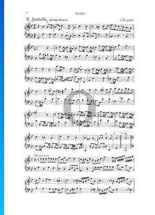 Fantasia, Douzaine II No.10: Pompeusement, TWV 33:23