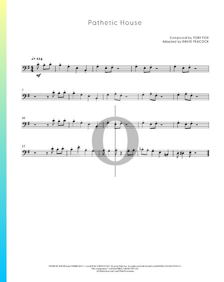 Pathetic House Sheet Music