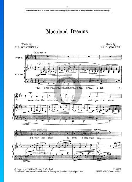 Moonland Dreams Sheet Music