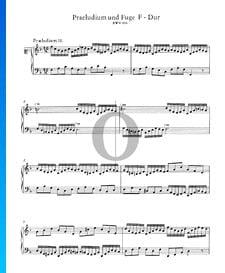 Prelude 11 F Major, BWV 856