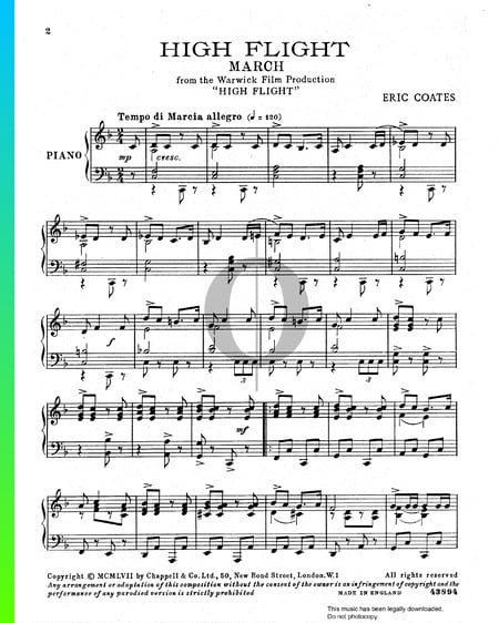 High Flight March Sheet Music