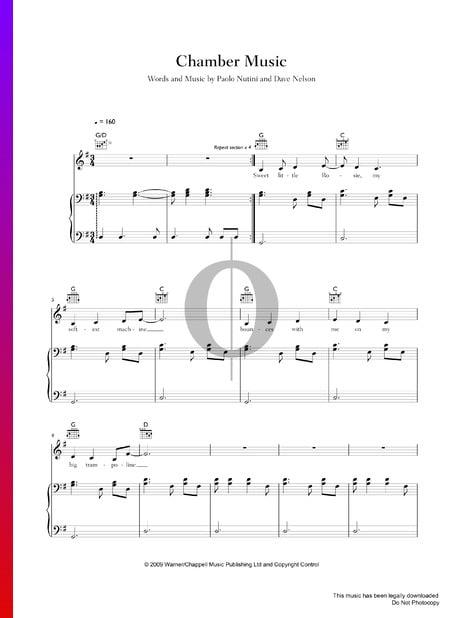 Chamber Music Musik-Noten