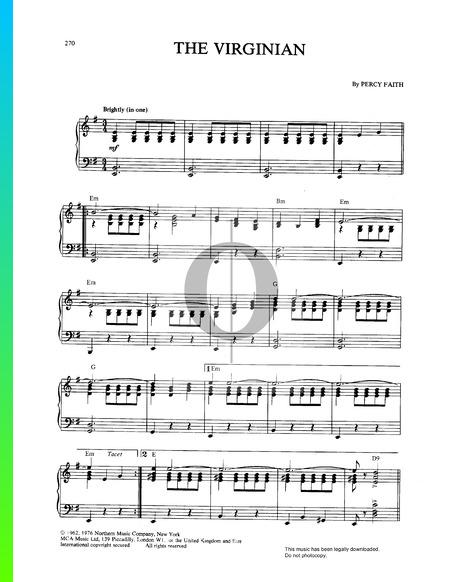 The Virginian Musik-Noten