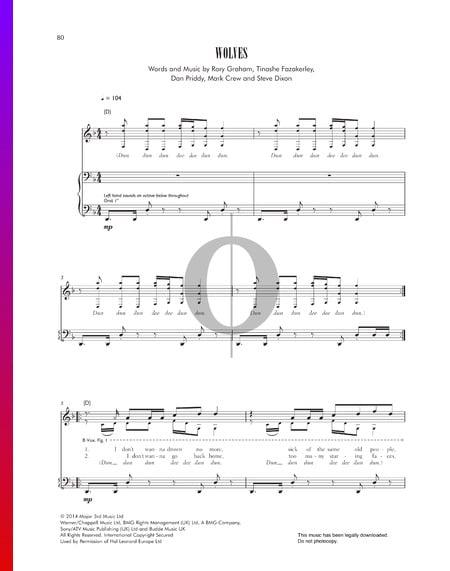 Wolves Sheet Music