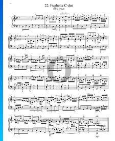Fughetta C-Dur, BWV 872a/2