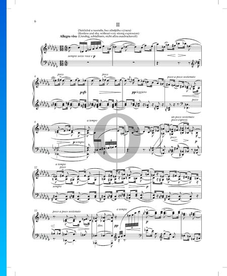 Erlebtes und Erträumtes, Op. 30 Nr. 2 Musik-Noten