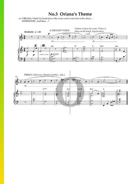 Oriana's Theme Musik-Noten
