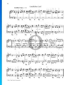 Canción rústica, Op. 68 n.º 20