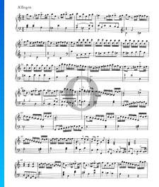Suite en La mineur, HWV 576: 2. Allegro