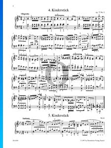 Kinderstück, Op. 72 No. 1