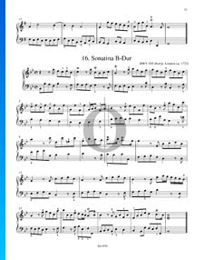 Sonatina in B-Dur, HWV 585