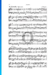Fantasia, Douzaine II No.10: Modérément, TWV 33:22