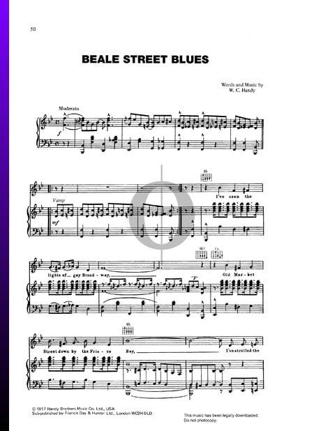 Beale Street Blues Sheet Music