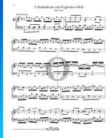 Prélude en Mi mineur, BWV 900