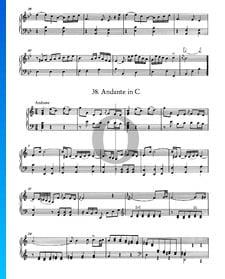 Andante in C Major, No. 38