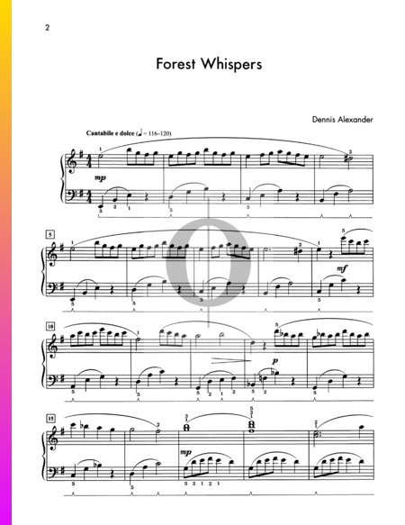 Forest Whispers Sheet Music