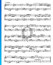 Concierto en sol menor, BWV 985: 2. Adagio