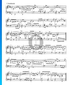 Suite n.º 5 en mi menor, HWV 438: 2. Sarabanda