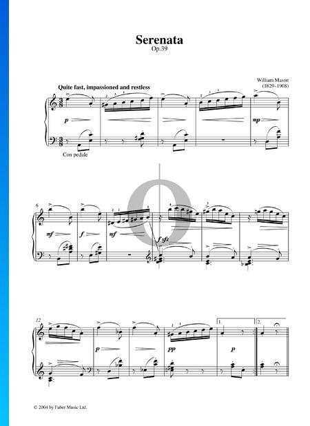 Serenata, Op. 39 Sheet Music