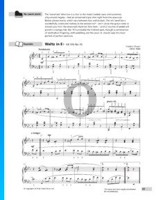 Waltz E flat Major, KK IVb No.10