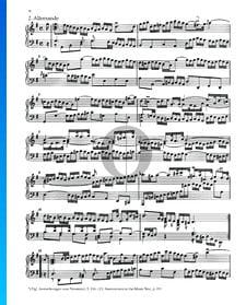 Partita 5, BWV 829: 2. Allemande