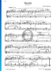 Mazurka, Op. 8 Nr. 1