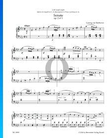 Sonata en fa menor, Op. 2 n.º 1: 1. Allegro