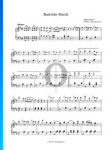 Marche de Radetzky (Marche de l'Armée II, 145), Op. 228
