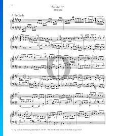 Suite inglesa n.º 1 en la mayor, BWV 806: 1. Preludio