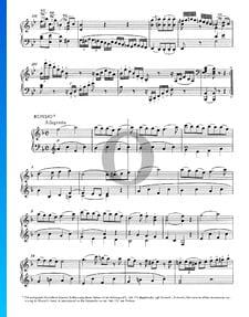 Klaviersonate Nr. 15 F-Dur, KV 494: 3. Allegretto