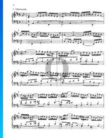 Partita 4, BWV 828: 2. Allemande
