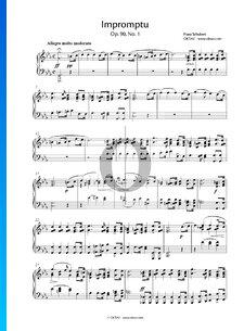 Impromptu C Minor, Op. 90 No. 1, D 899
