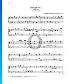 Minuet in D Major, KV 94 /73h)