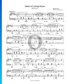 Vals en do sostenido menor, Op. 64 n.º 2