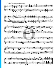 Goldberg Variations, BWV 988: Variatio 29. a 1 ô vero 2 Clav.