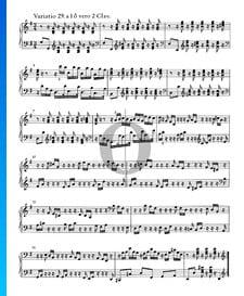 Variaciones Goldberg, BWV 988: Variación 29. a 1 ô vero 2 claves