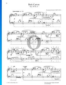 Pequeño canon, Op. 58 n.º 6