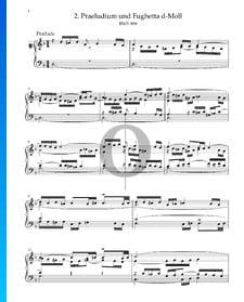 Prélude en Ré mineur, BWV 899