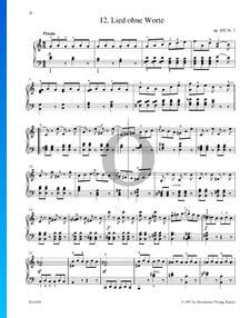 Canciones sin palabras, Op. 102 n.º 3