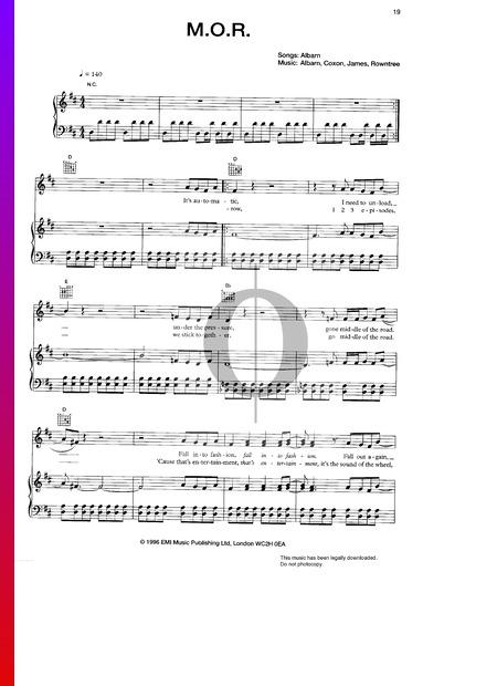 M.O.R. Musik-Noten