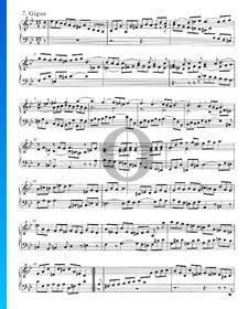 Suite inglesa n.º 3 en sol menor, BWV 808: 7. Giga