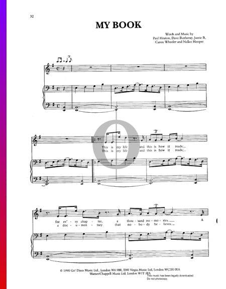 My Book Musik-Noten