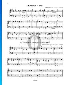 Sarabande con variazioni Ré mineur, HWV 437/4
