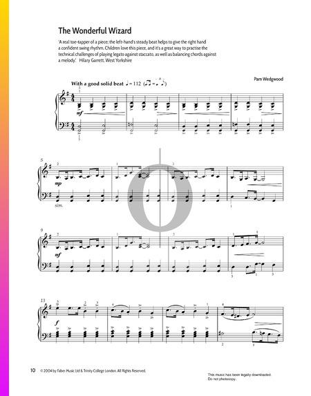 The Wonderful Wizard Musik-Noten