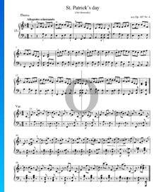 Día de San Patricio, Op. 107 n.º 4