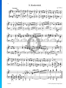 Kinderstück, Op. 72 No. 6