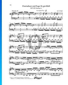 Praeludium gis-Moll, BWV 887